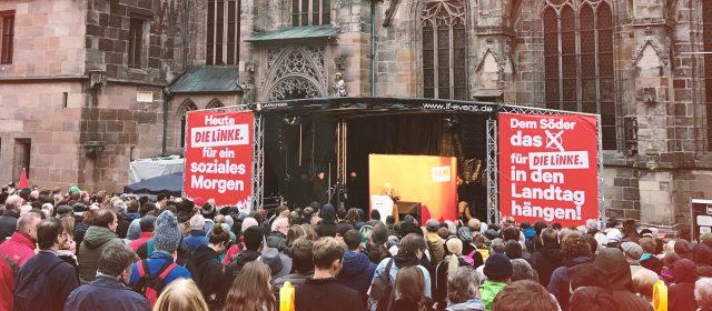 Wahlkampf-Höhepunkt mit Gregor Gysi