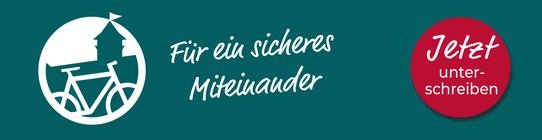Banner Radentscheid - Jetzt unterschreiben!